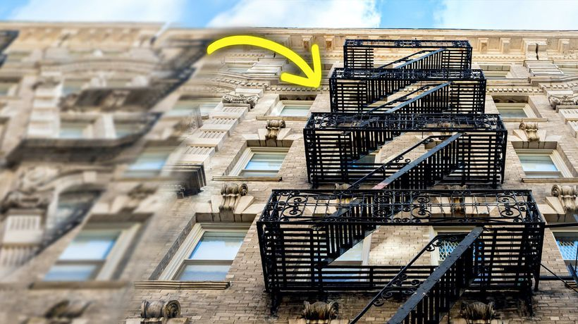 How The Flawed Fire Escape Took Over New York