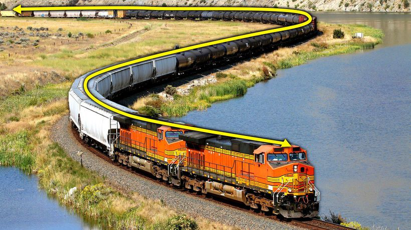 Why Freight Trains Keep Getting Longer