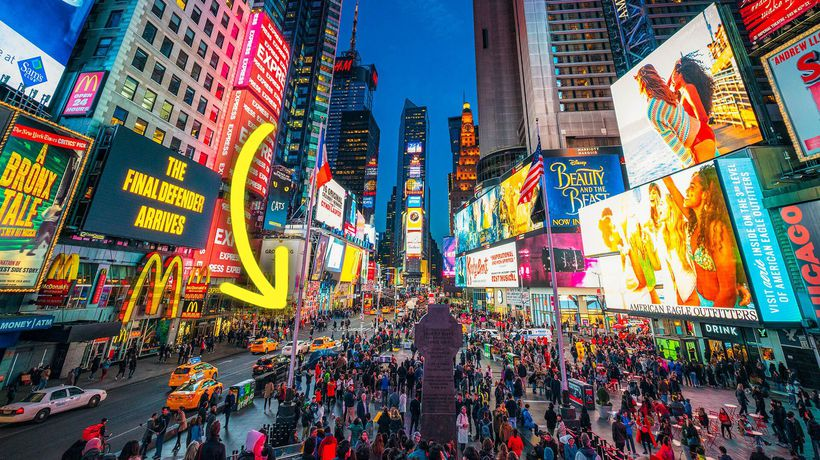 How Times Square Became A Giant Tourist Trap