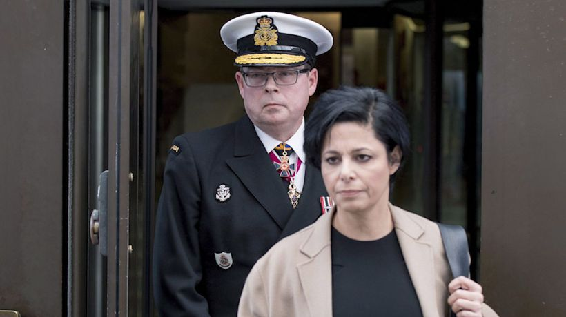 Accused admiral eager to get back to 'serving' Canadians