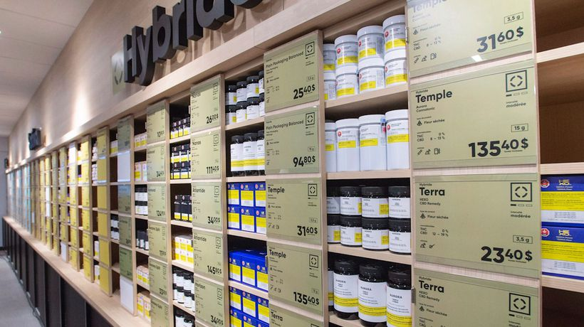 Take a look at one of Quebec's legal cannabis stores