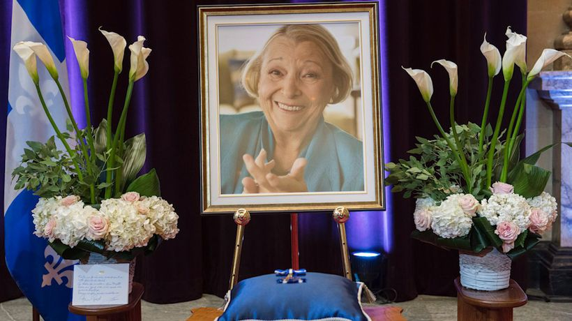 Lise Payette remembered for her contribution to Quebec