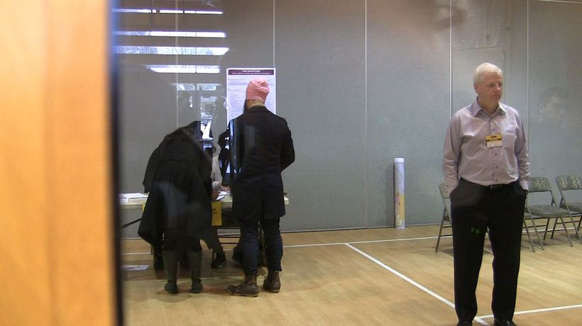 NDP Leader Jagmeet Singh votes in advance in Burnaby South byelection