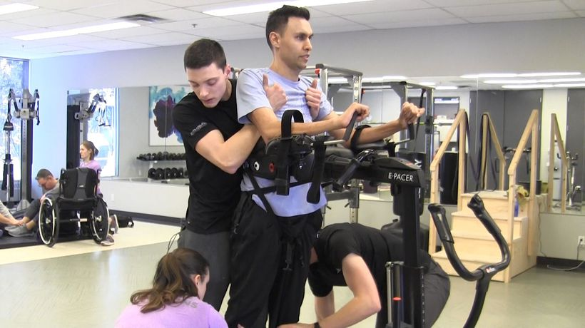 Paralyzed Calgary surgeon has undergone experimental surgery in Thailand with positive results
