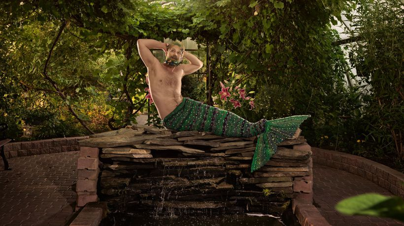 Mermen calendar targets 'toxic masculinity,' raises big money for charities