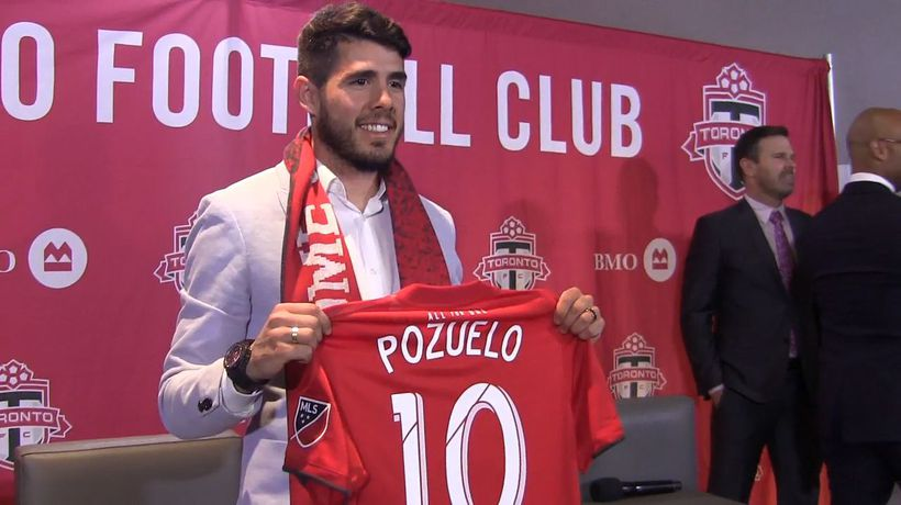 Spanish playmaker Alejandro Pozuelo happy to join Toronto FC