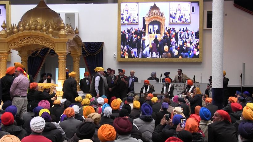 Trudeau champions Sikh strength at Vaisakhi parade