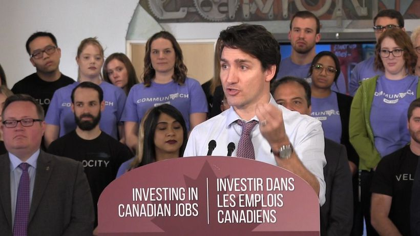 Trudeau says Ford government delays risk infrastructure funding for this construction season