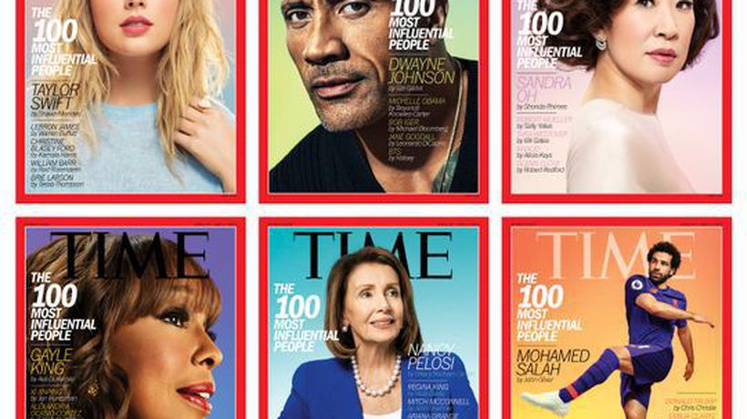 "Canadian actor Sandra Oh featured on cover of ""Time"" magazine's 100 most influential people issue"
