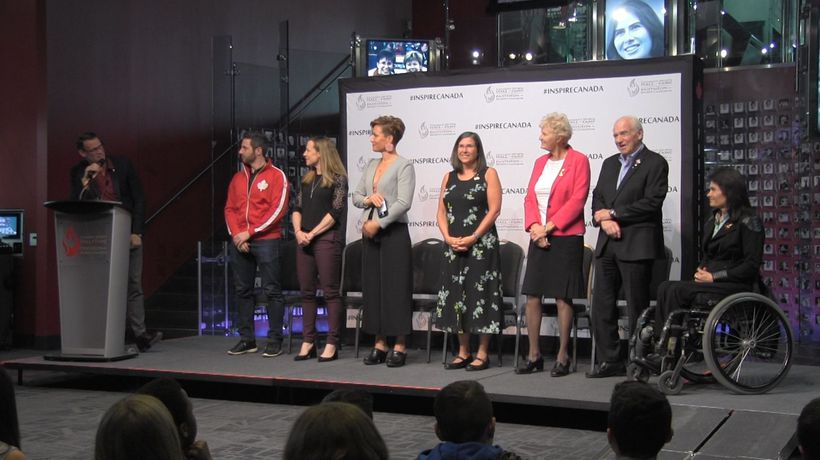 Canada's Sports Hall of Fame inducts a diverse class in 2019