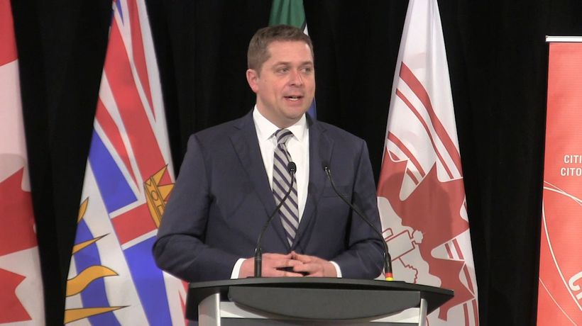 Scheer says it would take Conservatives five years to balance the federal budget
