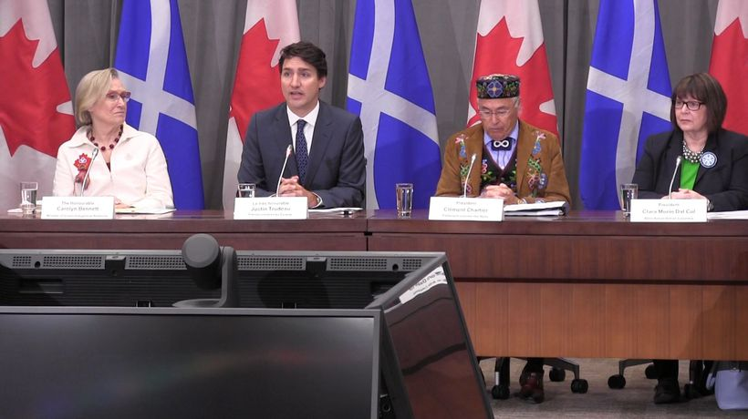 Relationship with Metis Nation a model for reconciliation: Trudeau