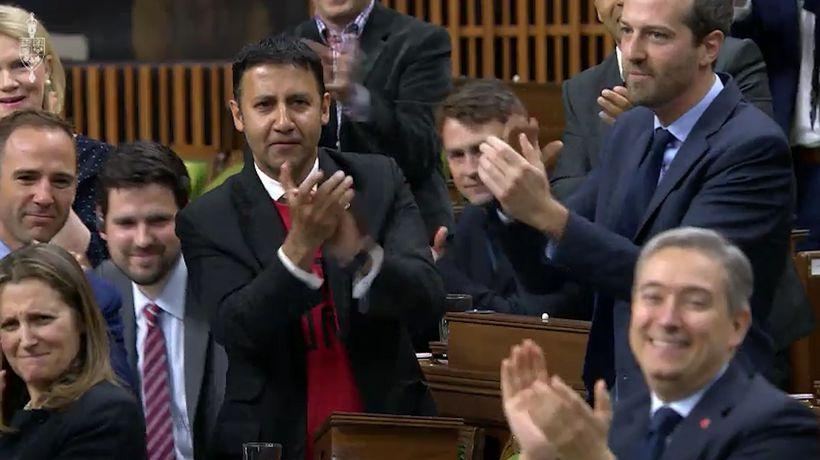 MPs chant 'Let's go Raptors' in House of Commons