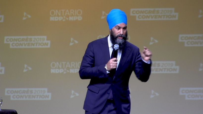 NDP promises to expand universal health care