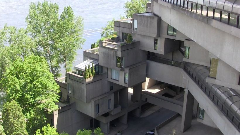 Take a look inside Montreal's Habitat 67
