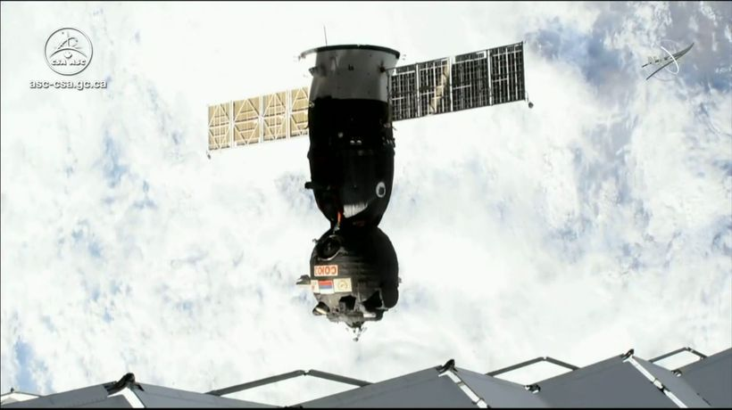 David Saint-Jacques returns to Earth after space mission
