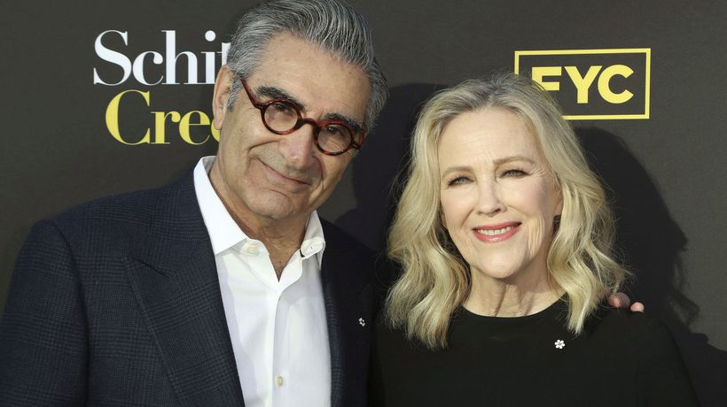 'Schitt's Creek' and its stars among Canadians with Emmy nominations