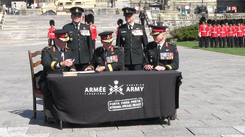 Canadian Forces installs new Army commander