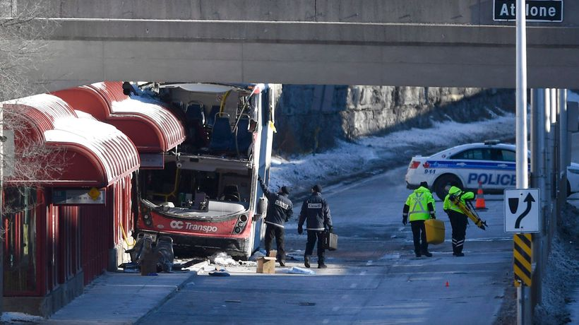 Ottawa police charge bus driver in deadly crash