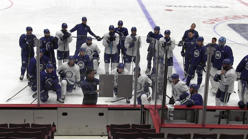 Leafs, Oilers and Canucks prepare for upcoming season