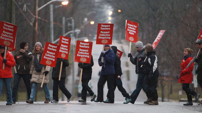 No deal ahead of one-day teachers strike as rhetoric ramps up