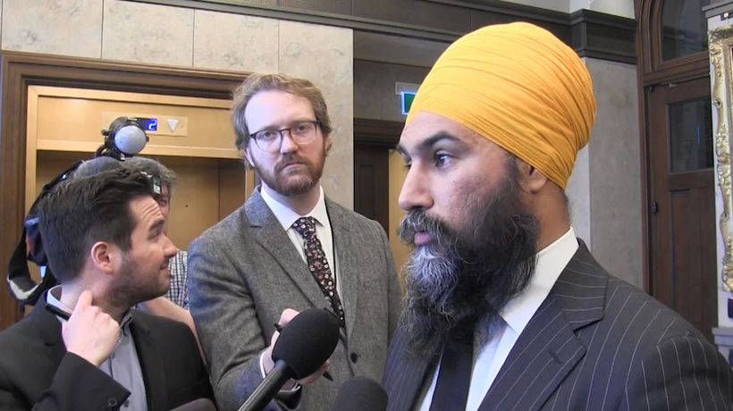 Singh calls for action on blockades; Trudeau acknowledges economic impact