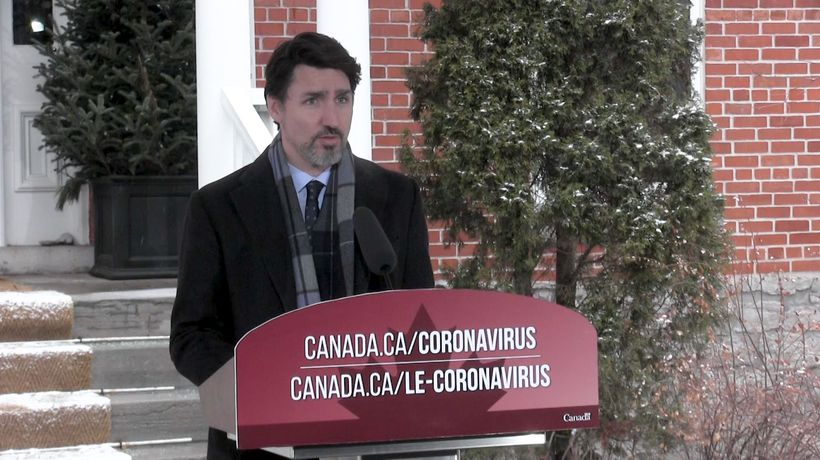 Trudeau gives sharp warning about social distancing
