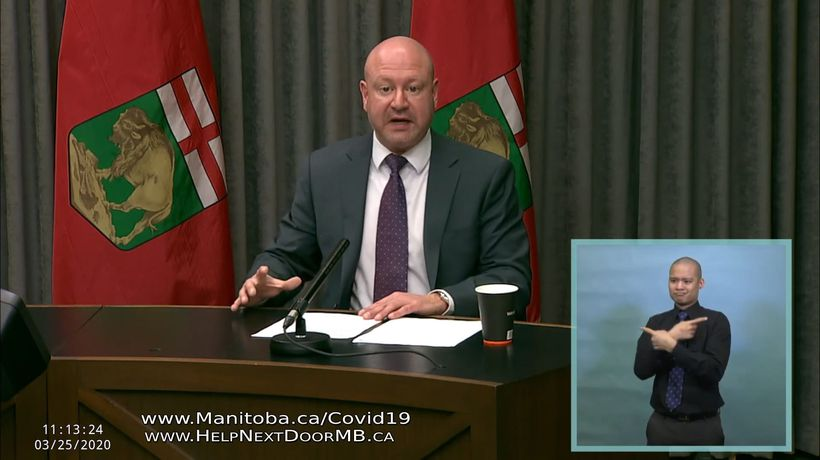 Manitoba health officials are reporting a spike in COVID-19 cases, and are hinting at new restrictio