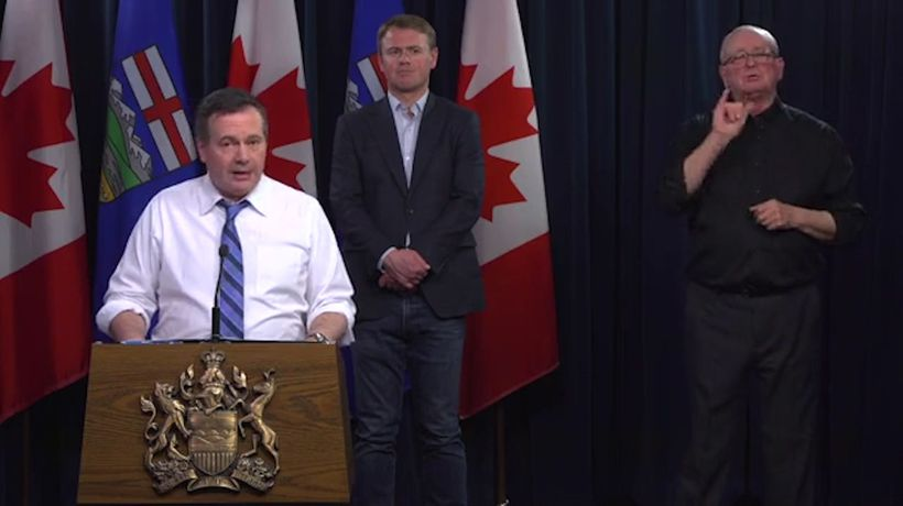 Alberta Premier, Chief Medical Officer provide update on COVID-19