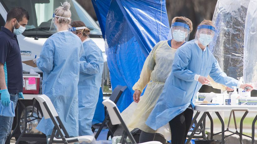 Pandemic supplies moving but demand high, ministers say