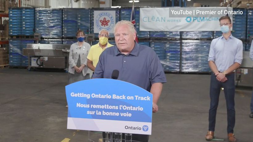 Premier Ford says getting kids to school safely a priority