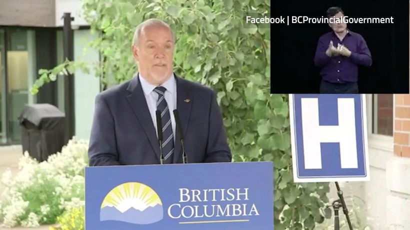 B.C. Premier John Horgan says school reopening is an 'unprecedented challenge'