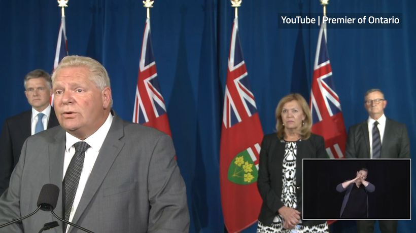 Ontario is in a COVID-19 second wave: Ford