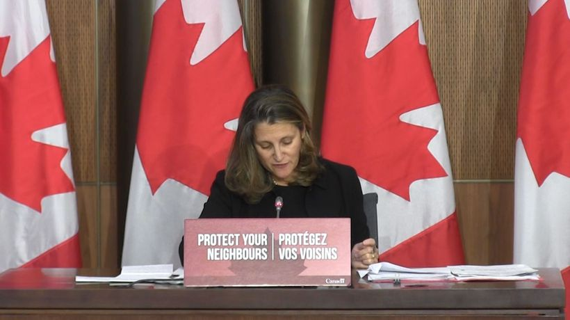 Freeland promises rent subsidies and richer wage supports for COVID-hit businesses