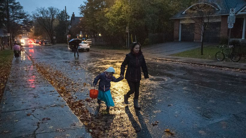 Halloween will be allowed in Quebec but only for children