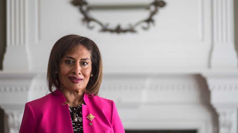 Salma Lakhani is Canada's first Muslim Lieutenant-Governor