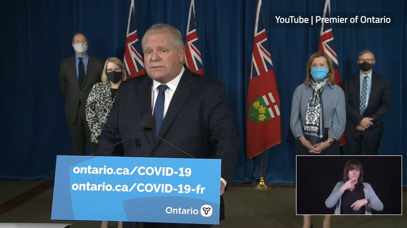 Ontario issues stay-at-home order amid COVID surge