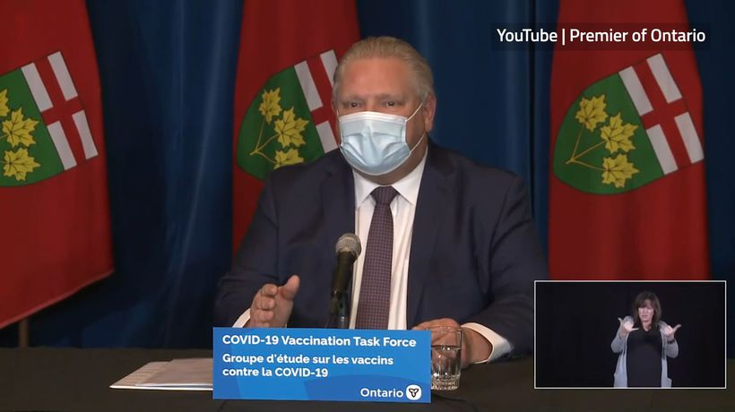 Ford appeals to Biden for COVID-19 vaccines