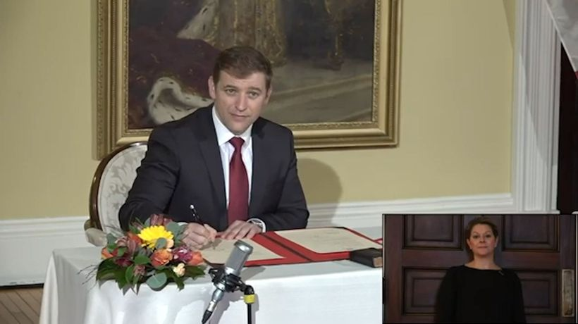 Andrew Furey sworn in as Newfoundland and Labrador premier after tumultuous election