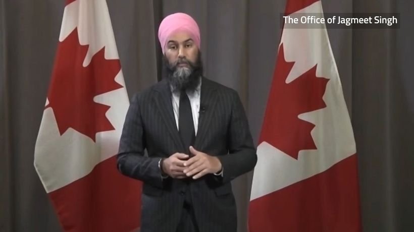 Singh stresses NDP wins on pandemic relief going into party convention