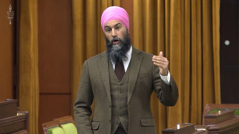Canada is 'on fire' amid COVID-19 third wave: Singh