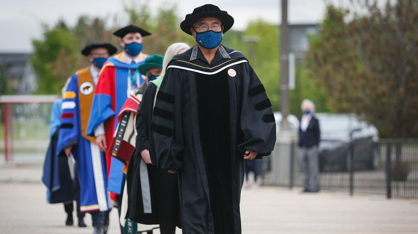 Residential school survivor receives honorary doctorate from a Calgary university