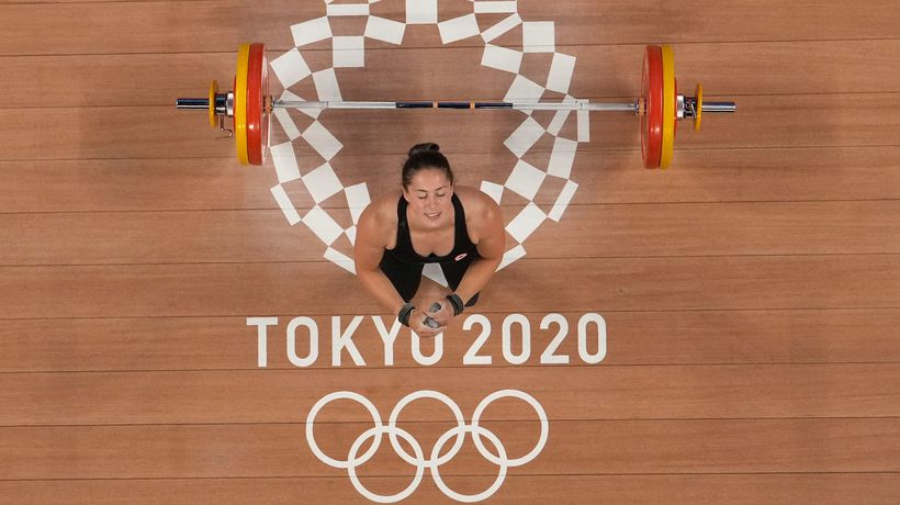 Weightlifter Charron proud of Olympic title