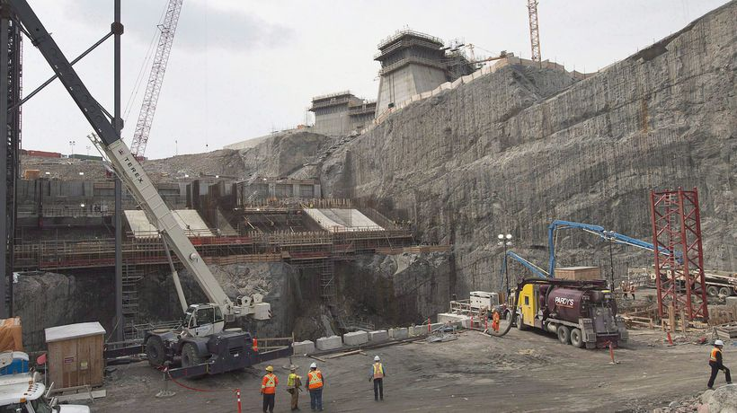Trudeau announces funding for Muskrat Falls project