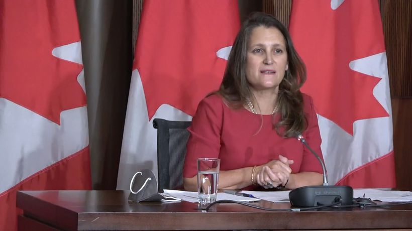 Freeland says 'toxic culture' in military must change