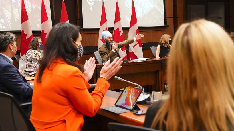 NDP ready to withhold votes on Liberal bills: Singh