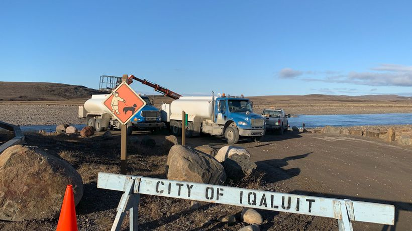 Testing finds fuel in tank at Iqaluit's water treatment plant