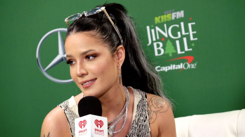 Halsey learned the hard way to keep her relationships private