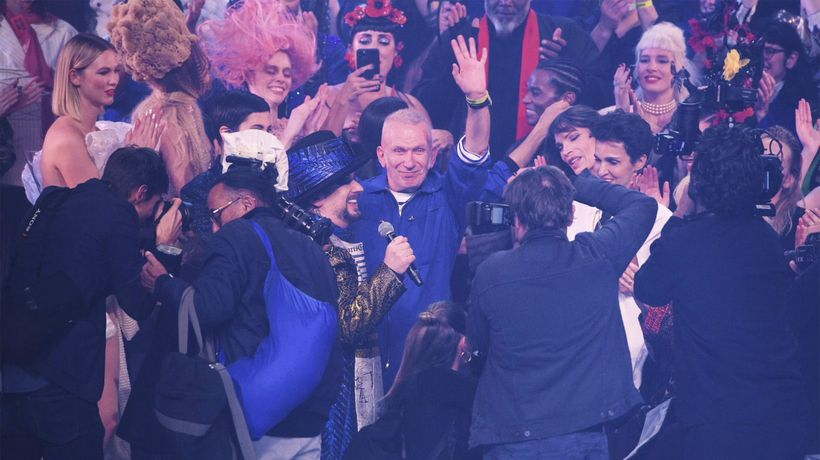 Jean Paul Gaultier takes final bow at star-studded couture show!