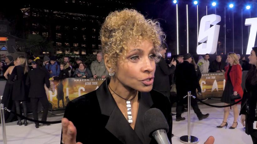 EXCLUSIVE: Michelle Hurd on how great it is to be part of 'Star Trek: Picard'